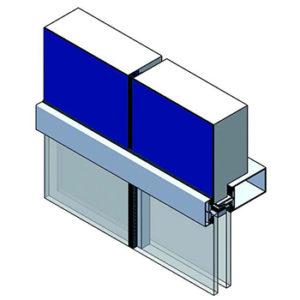 isosta-facade-panels_horizontal-frame-system